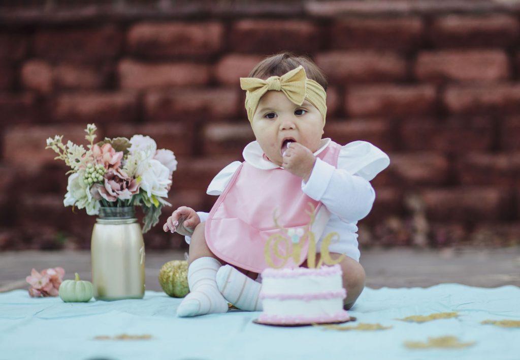 Baby Birthday Photography Northern VA